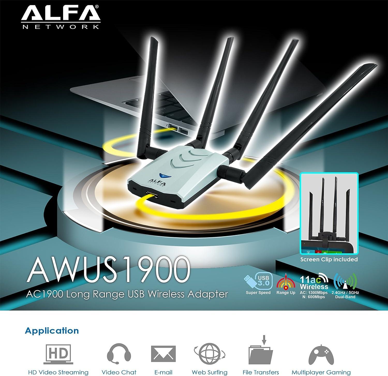 Alfa Network AWUS1900 802.11ac Ultra speed USB adapter