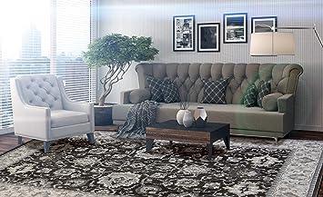 Peachy Gertmenian 21422 Traditional Rug High Density Oriental Persian Carpet 5 25X7 5 Standard Dark Brown Border Alphanode Cool Chair Designs And Ideas Alphanodeonline
