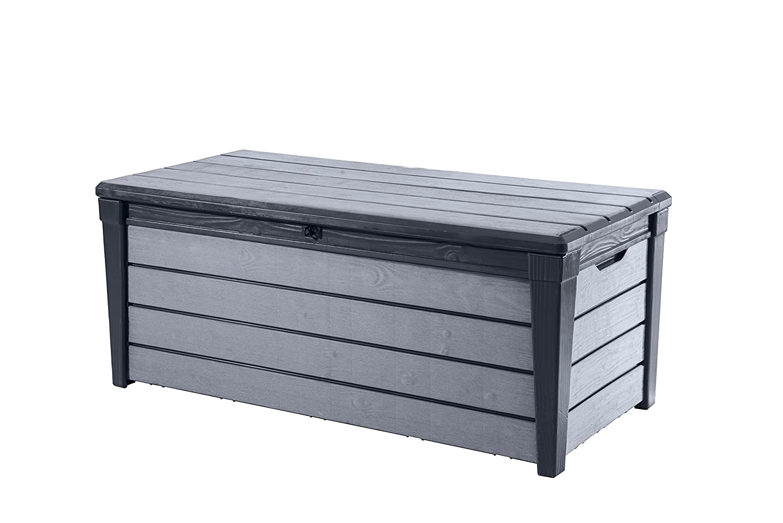 Keter Arcón de y Universal Brushwood Box, 455L, Antracita/Gris 6045