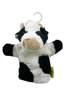 Animal Planet 28cm Vaca marioneta de mano con el sonido - juguetes animales - Peluches [