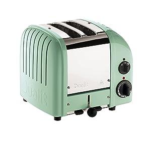 Dualit 27160 NewGen Toaster, Mint Green