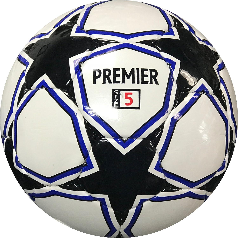 Balón de fútbol Premier Plus- Match Balón de fútbol blanco y negro ...