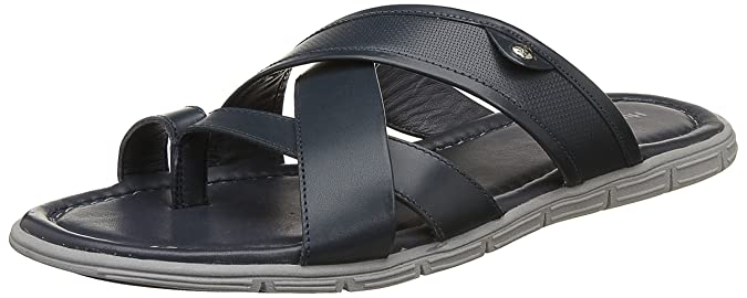 Hush Puppies Men's Sartre Leather Hawaii Thong Sandals Men's Fashion Sandals at amazon