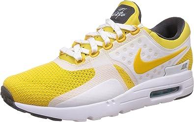 Nike Air MAX Zero QS, Zapatillas de Running para Hombre, Blanco/Negro (White/Vvd Slfr-Spc Bl-Anthrct), 48 1/2 EU: Amazon.es: Zapatos y complementos
