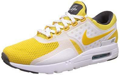 huge selection of 6f51b 207a1 Nike Air Max Zero QS, Chaussures de Running Entrainement Homme, Noir (Blanc