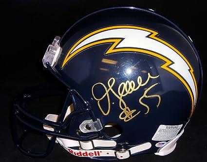 best service cb518 2577d Amazon.com: Junior Seau Autographed San Diego Chargers ...