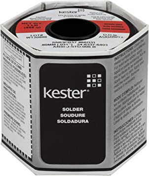 "Kester 63 // 37 Solder 0.031/"" diameter 1 lb spool"
