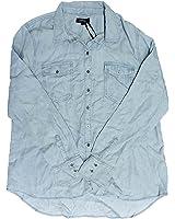 Buffalo David Bitton Long Sleeve Button Down Shirt for Women