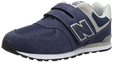 ac5a48142d New Balance Unisex-Kinder 574v2 Core Velcro Sneaker, Navy: Amazon.de ...