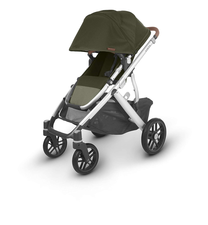 + Mesa Infant Car Seat Hazel UPPAbaby Vista V2 Stroller Black Olive//Silver//Saddle Leather Jake