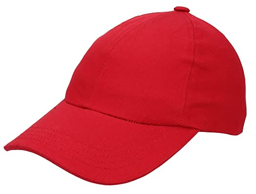 Zacharias Men s Baseball Cap Red  Amazon.in  Clothing   Accessories 09914f792b91