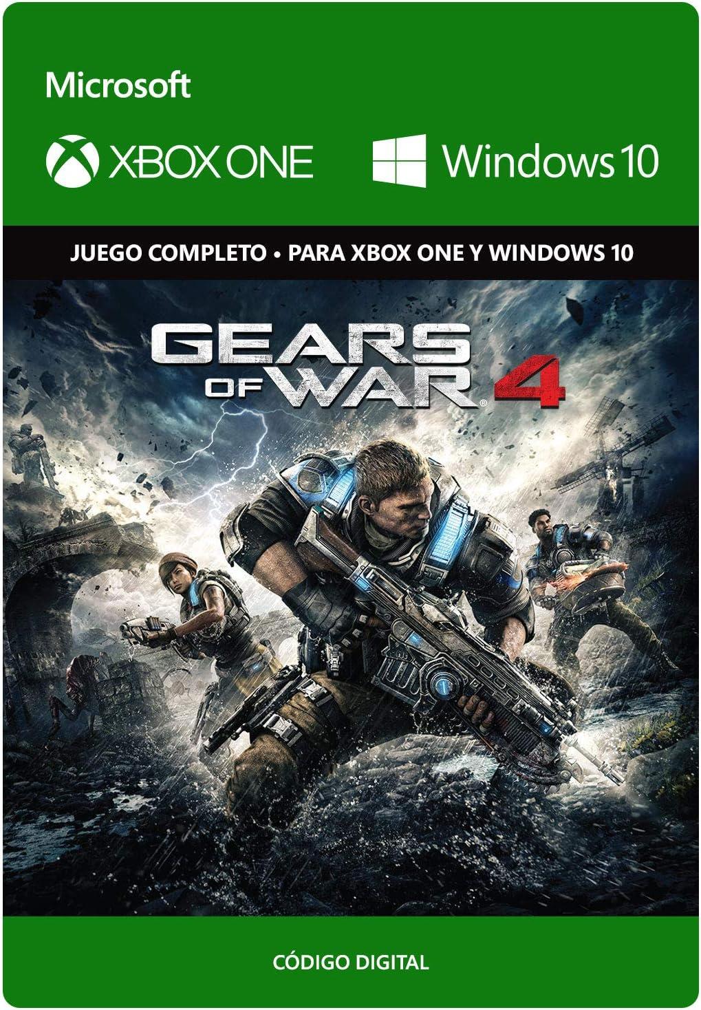 Gears of War 4: Standard   Xbox One/Windows 10 PC - Código de ...