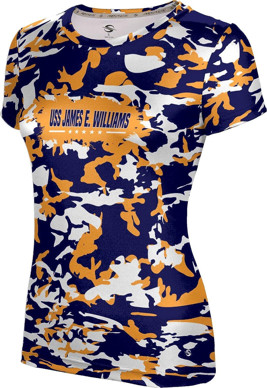 ProSphere Women's USS James E. Williams Military Camo Tech Tee