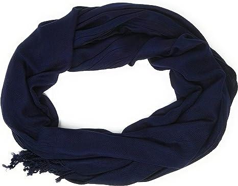 Echarpe femme pashmina Foulard Echarpe chal mode Femme bleu