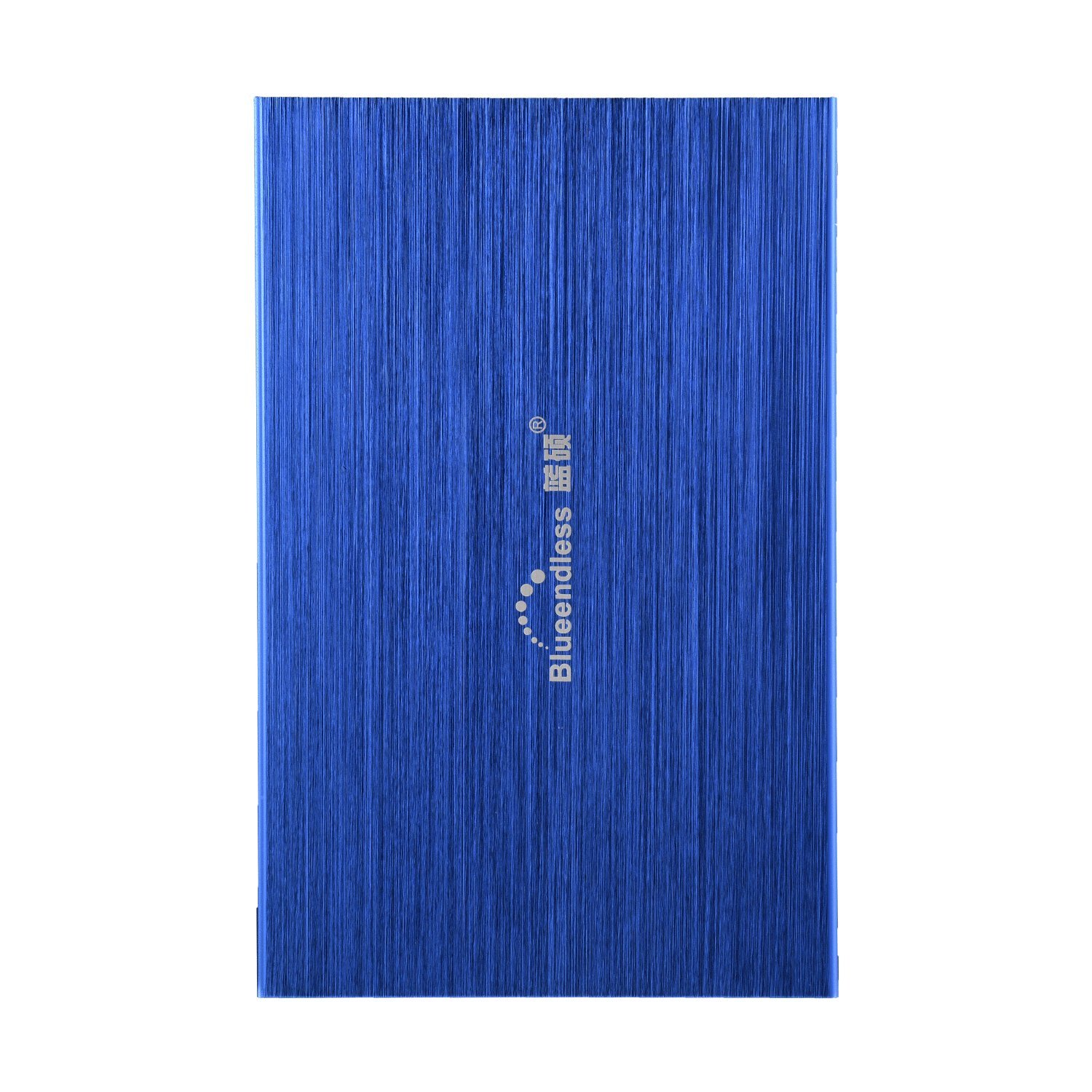 Blueendless 160GB Portable External Hard Drive USB2.0 Hard Disk Storage Devices Desktop Laptop (Blue)
