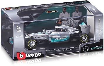 Mercedes F1 Amg Petronas Team 1 32 Die Cast Model Lewis Hamilton Amazon Co Uk Toys Games
