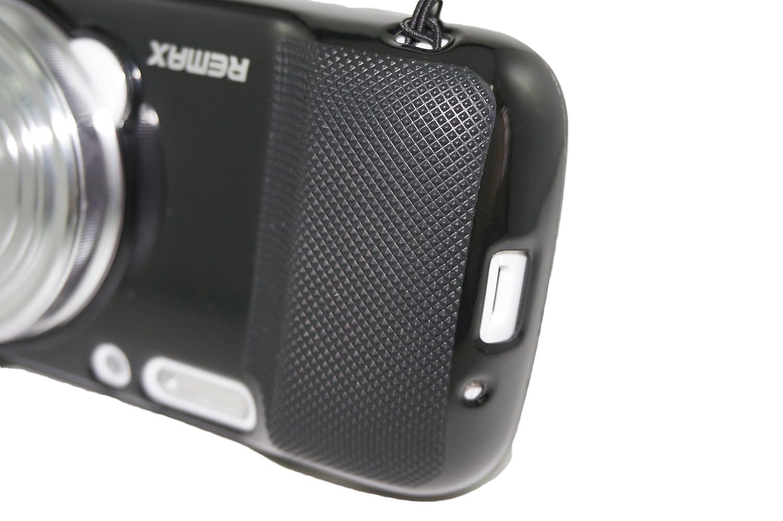 Hlle Cover Mit Objektivabdeckung Fr Samsung Galaxy S4 Zoom C1010 Black Aus Tpu Gel Silikon Abnehmbar Schwarz Elektronik