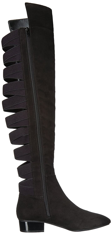 e08224e73ae Amazon.com  Nine West Women s Ooohaah Fabric Over The Knee Boot  Shoes