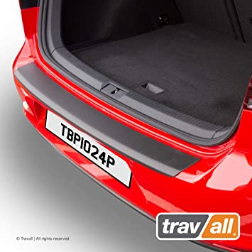 Travall Protector TBP1016M Vehicle-Specific Stainless Steel Metal Rear Bumper Protector