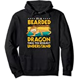 Reptile Quote It's A Bearded Dragon Thing Bearded Dragons Pullover Hoodie