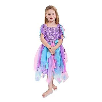 Lucy Locket - Vestido de Hada madrina vaporoso con corazones (5-6 años)