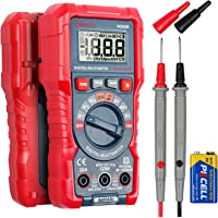 AstroAI Multimeter Tester, TRMS 2000 Counts Volt Meter Manual and Digital Auto Ranging; Measures Voltage, Current…