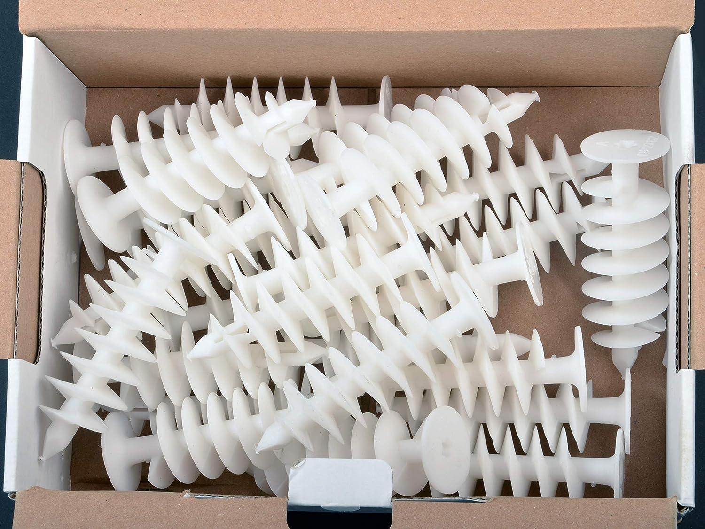 BSH® - 25 Tacos de aislamiento universal para placas de espuma rígida de poliuretano y poliestireno (poliestireno, 82 mm de longitud): Amazon.es: Bricolaje ...
