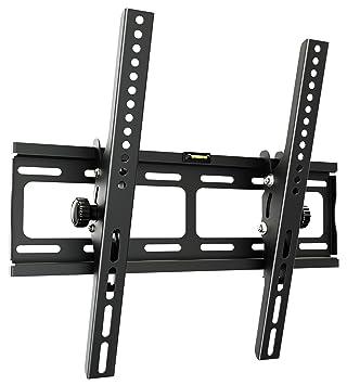 RICOO TV Wandhalterung R09 Universal Fernseh Halterung Neigbar Super Flach Wand Halter Aufhängung auch für Curved LCD und LED