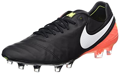 new concept 5357e c9d3a NIKE Men s Tiempo Legend VI FG Soccer Cleat (SZ. 7.5) Black, Orange