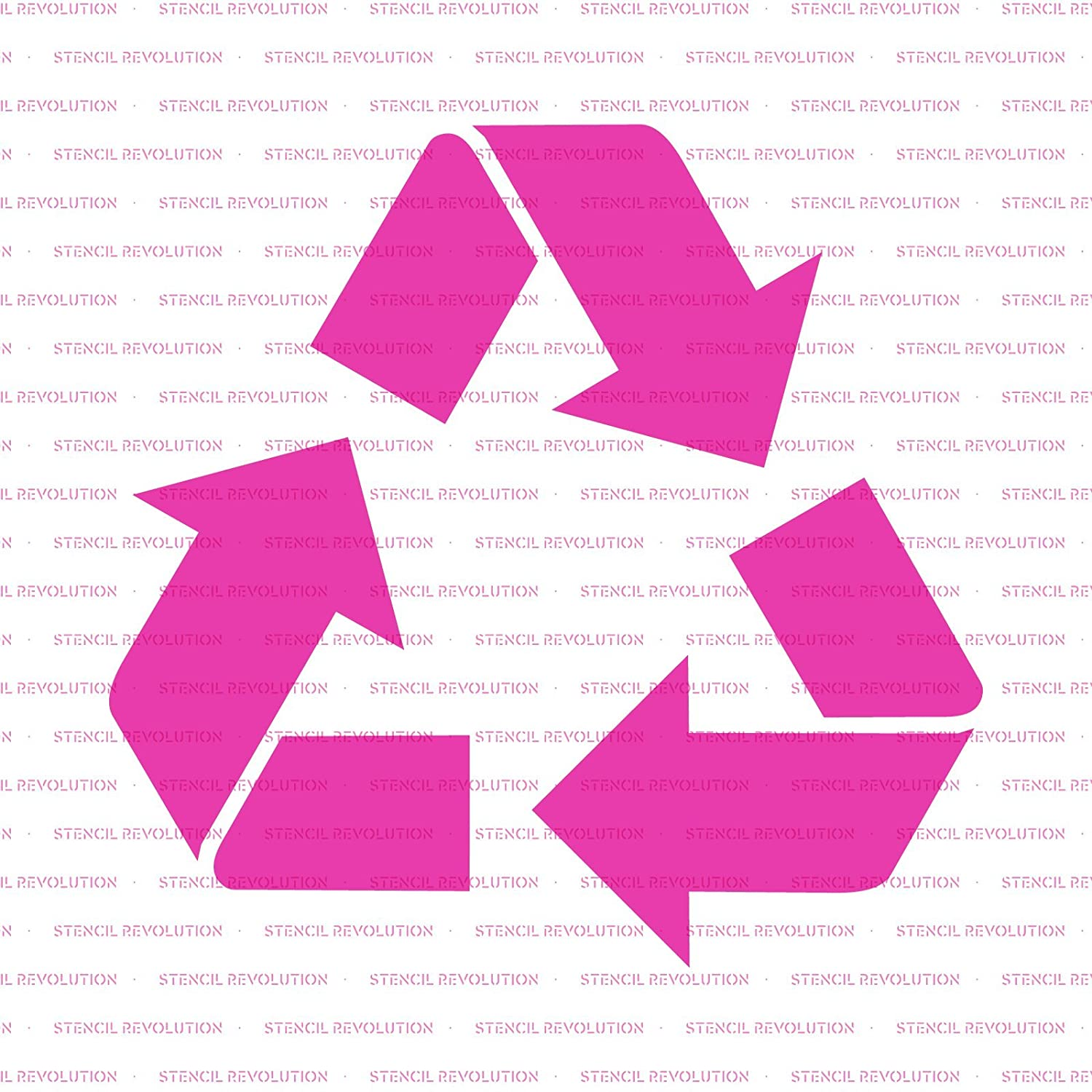 Consumer Crafts Review >> Recycle Stencil Template Reusable Stencil With Multiple Sizes Available