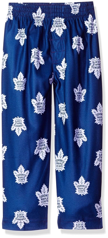 NHL Toronto Maple Leafs Toddler Boys Sleepwear All Over Print Pants Size 4T Dark Blue