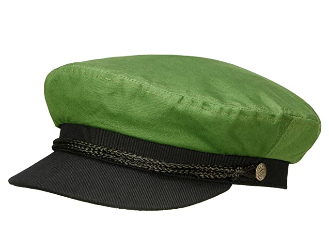 Brixton Men Fiddler Cap Fiddler Cap - Green - XL  Amazon.co.uk  Clothing 9aa46704663