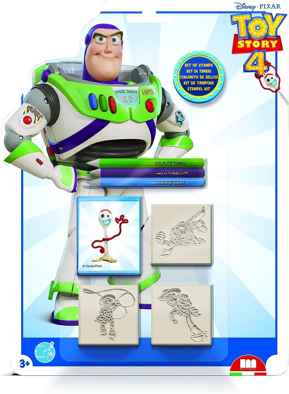 Inchiostro Lavabile Atossico in Legno e Gomma Naturale Idea Regalo Set Timbrini Bimbi Personalizzati 100/% Made in Italy Art.03981 Multiprint Blister 3 Timbri per Bambini Disney Frozen 2