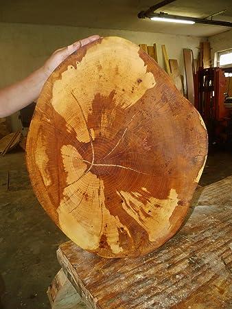Baumscheibe Holzscheibe Ca 60 X 50 X 5 Cm Basteln Holz