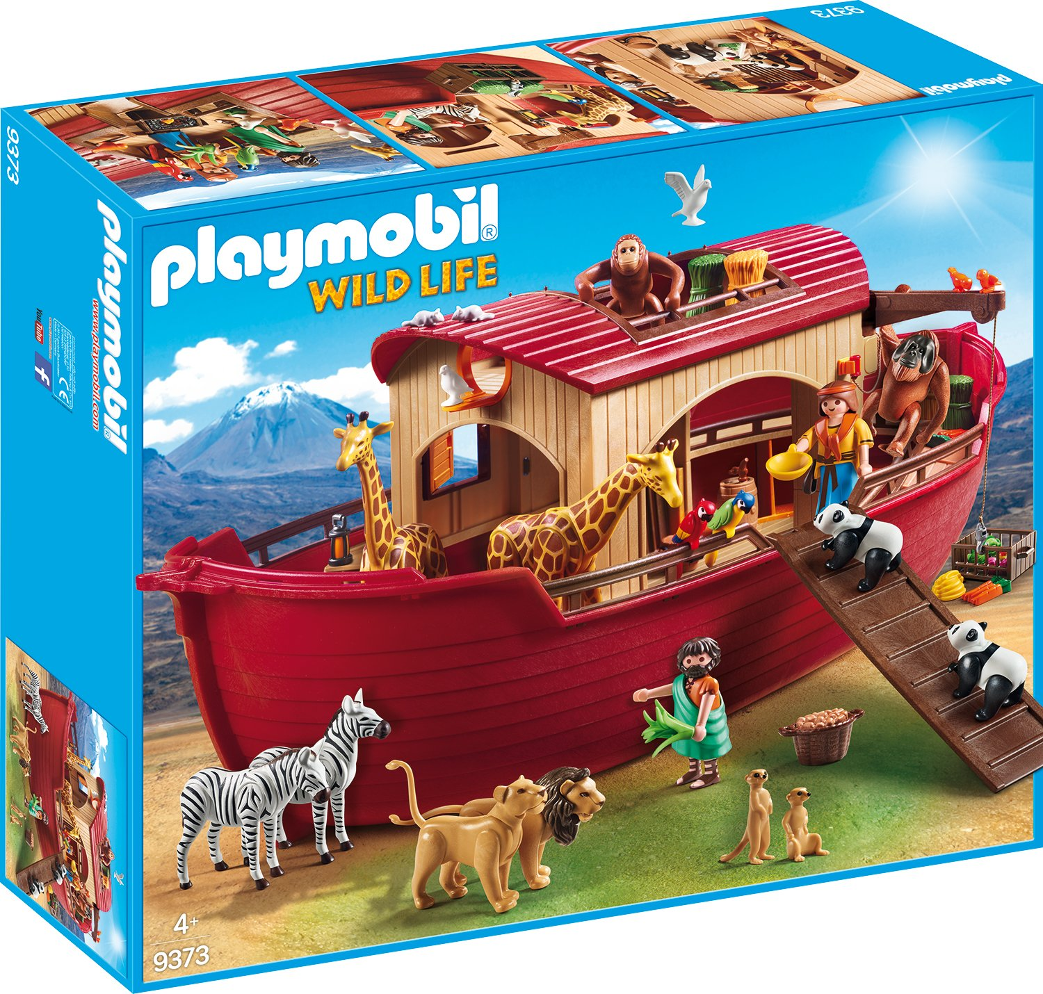 PLAYMOBIL 9373 Noah's Ark - NEW 2017