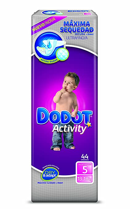 Dodot - Pañales Dodot Activity T5 44 uds