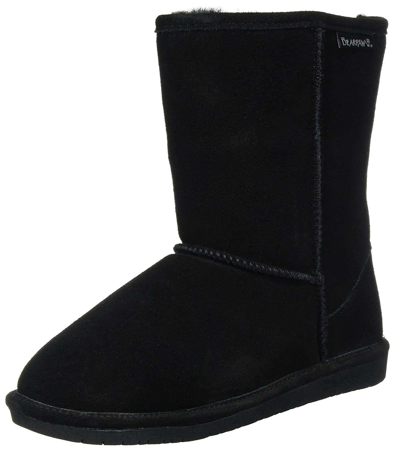 BEARPAW Women's Emma Short Snow Boot B0795BLZYQ 36 M EU|Black Ii