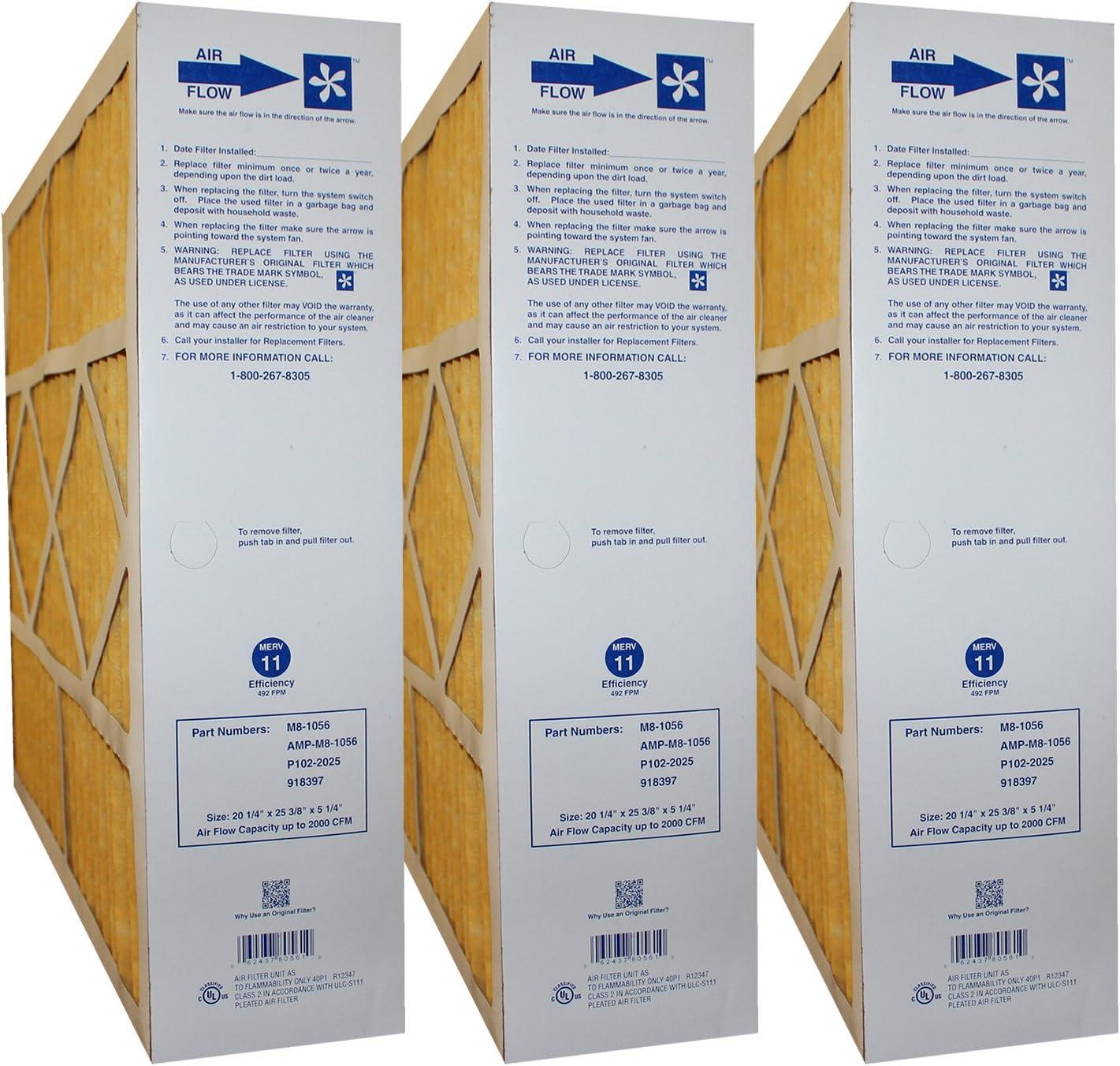 Case of 2 Filters Genuine Original Part # M2-1056 MERV 11 Size 20x20x5 Actual Size: 20-1//4 x 20-3//4 x 5-1//4