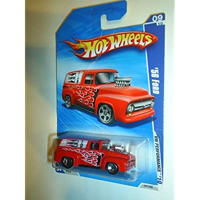 Hot Wheels '56 Ford HW Performance 9/10 2010 115/214 1:64 Scale: Toys & Games