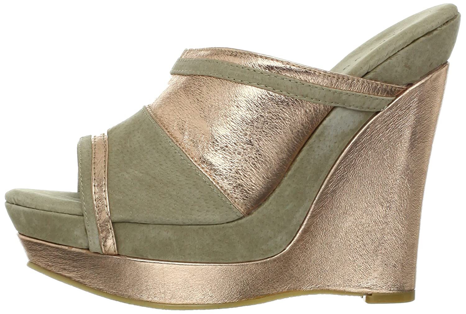 Very Volatile Women's Supercharge Wedge US|Rose Sandal B009YDRCZU 8 B(M) US|Rose Wedge Gold bffe64