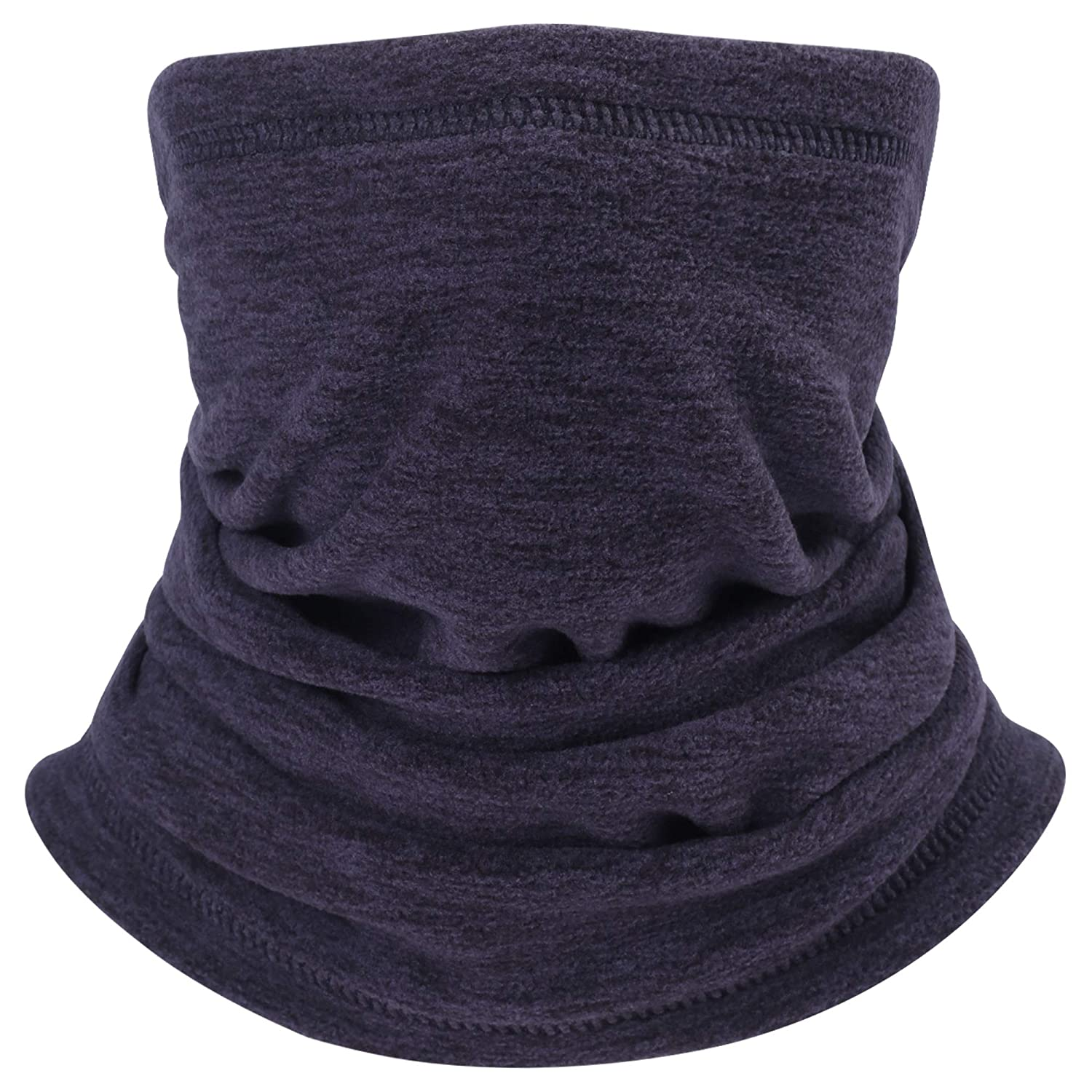 Fleece Neck Warmer Scarf for Men Women, Wind & UV Protective Face Mask for Winter WZHENH