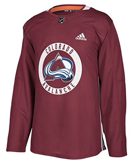 cheap for discount 9560f f531c adidas Colorado Avalanche NHL Men's Climalite Authentic Practice Jersey