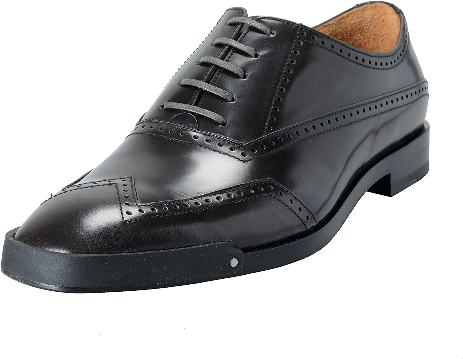 Leather Wingtip Oxford Dress Shoes