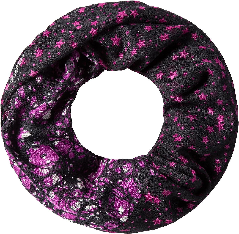 foulard a tubo a disegni leggero e morbido Vincenzo Boretti foulard alla moda elegante per donna