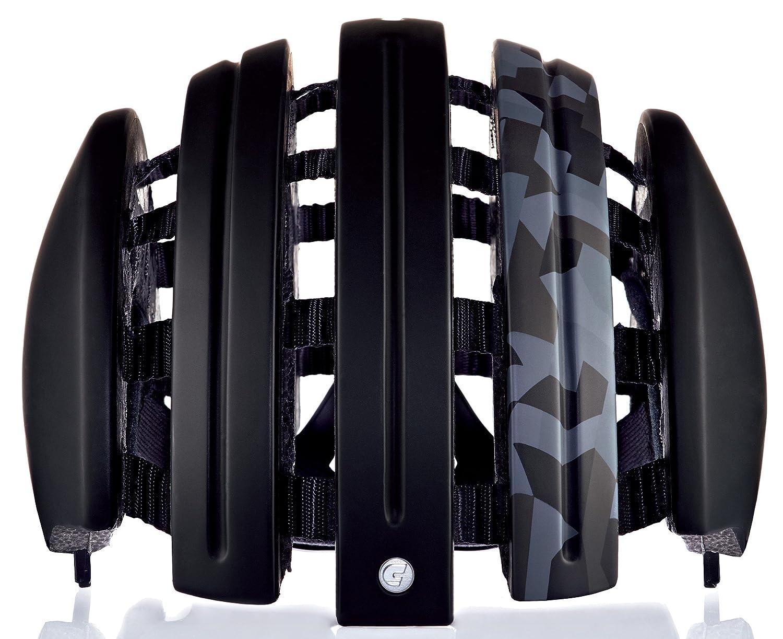 Carrera Fahrradhelm Foldable GTE Unisex Black mat camo