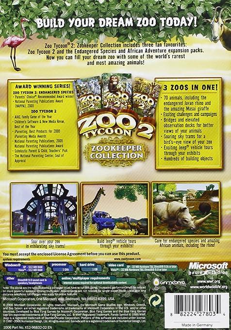 zoo tycoon endangered species full version