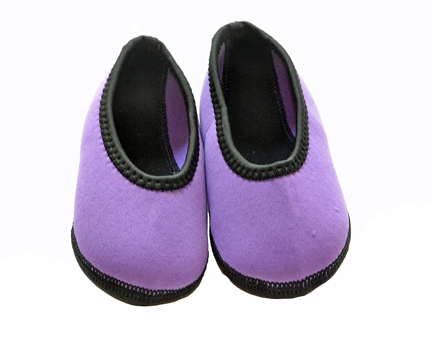 Nufoot Indoor Toddler Shoes Ballet Flat Size 9T Purple 12T 2 Count