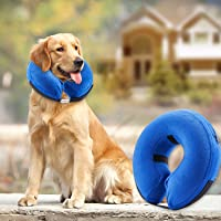 BENCMATE Protective Inflatable Collar for Dogs and Cats - Soft Pet Recovery Collar Does Not…