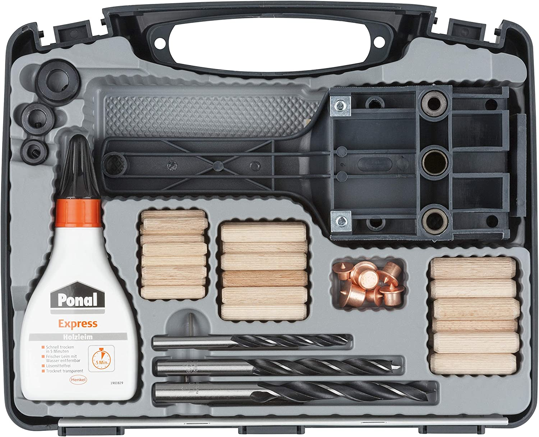 Wolfcraft 4645000 Universal Dowel Kit by Wolfcraft
