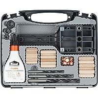 Wolfcraft 4645000 - Set universal de espigado